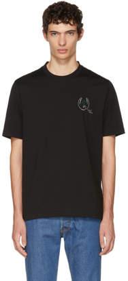 Brioni Black Logo Crest T-Shirt