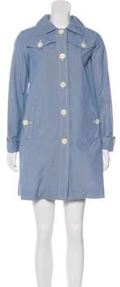 Orla Kiely Patterned Knee-Length Coat
