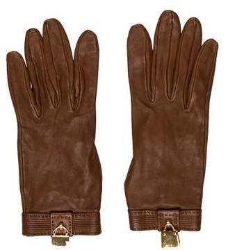 Hermes Leather Bag Charm Gloves
