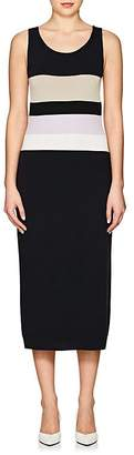 Nina Ricci Women's Striped Knit Wool-Blend Dress