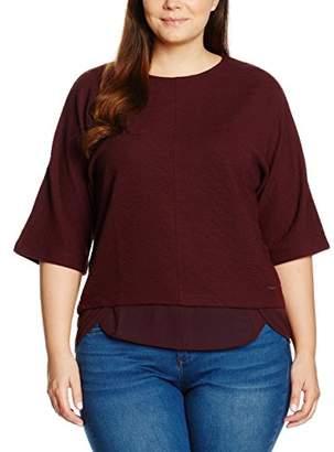 S'Oliver TRIANGLE Women's mit Chiffoneinsatz T - Shirt