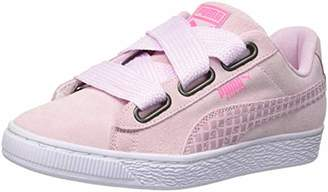 Puma Women's Suede Heart Street 2 WN's Low-Top Sneakers, Winsome Orchid