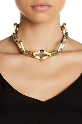 House Of Harlow Valda Stone Statement Necklace