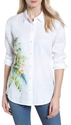 Tommy Bahama Queen Palms Linen Shirt