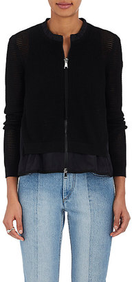 Moncler Women's Maglia Layered Sweater $570 thestylecure.com