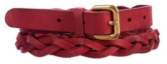 Prada Braided Wrap-Around Belt