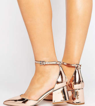 Asos DESIGN STARLING Wide Fit Pointed Heels