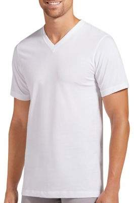 Jockey Three-Pack Slim-Fit Cotton V-Neck T-Shirts