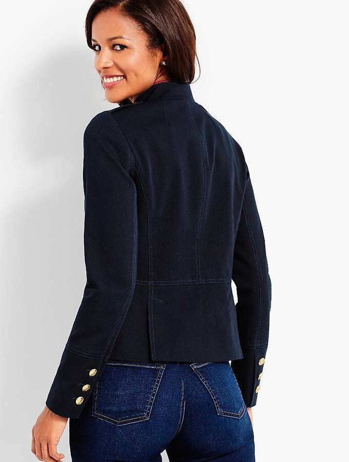 Compact Military Twill Jacket