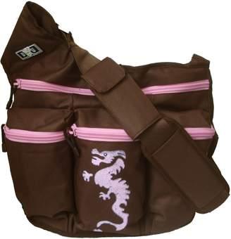 Diaper Dude Dragon Diaper Diva Bag (Brown/ Pink)