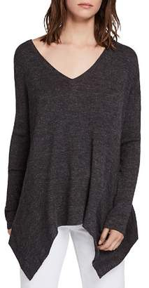 AllSaints Kelsey Ribbed Tunic Top