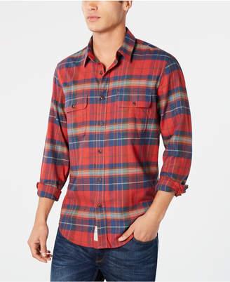 Lucky Brand Men Regular-Fit Plaid Shirt