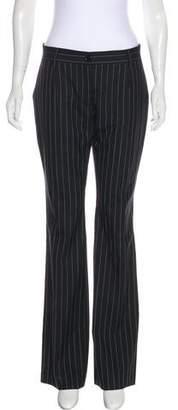 Dolce & Gabbana Mid-Rise Pinstripe Pants