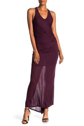 H By Bordeaux Fishtail Maxi Dress