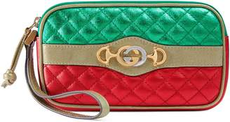 Gucci Laminated leather iPhone case
