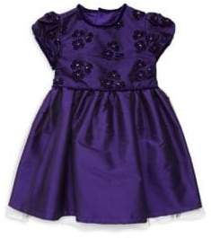 Isabel Garreton Baby Girl's Floral Applique Dress
