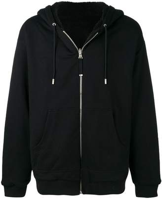 Diesel Black Gold Flamo reversible hoodie