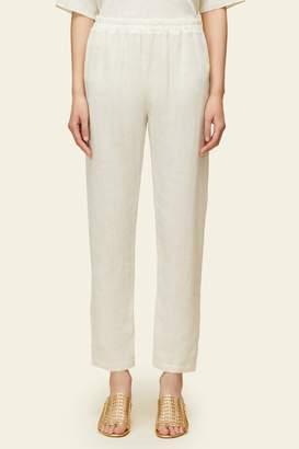 Mansur Gavriel Linen Elastic Pant