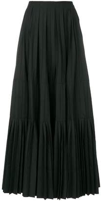 Junya Watanabe pleated long skirt