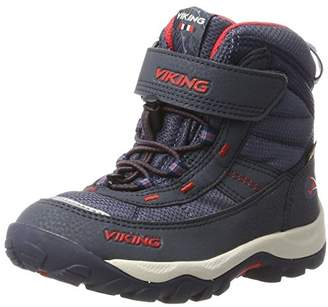 Viking Unisex Kids 3-86450 Cross Blue Size: 12.5UK Child