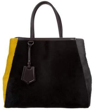 Fendi Ponyhair 2Jours Bag