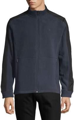 Calvin Klein Logo Mockneck Jacket