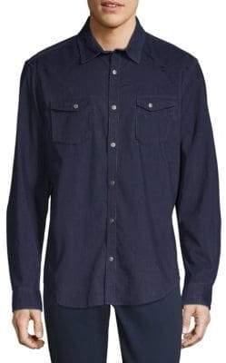 Calvin Klein Jeans Long-Sleeve Denim Button-Down Shirt