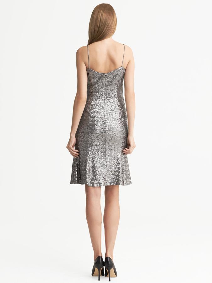 L'Wren Scott Collection Sequin Wiggle Dress