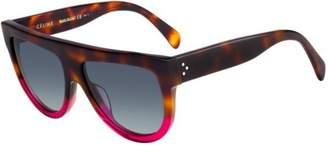 Celine CL41026/S 23A Havana/ Shadow Round Sunglasses Lens Category 3 S