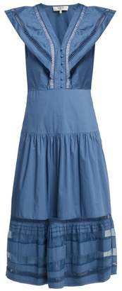 Sea Capri Cotton Dress - Womens - Blue