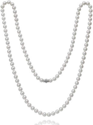 "Assael Akoya 36"" Akoya Cultured 9.5mm Pearl Necklace with White Gold Clasp"