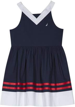 Nautica Toddler Girls' Spaghetti Strap Fashion Dress