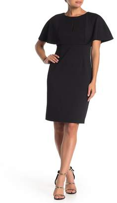 Trina Turk trina Affection Flutter Sleeve Sheath Dress