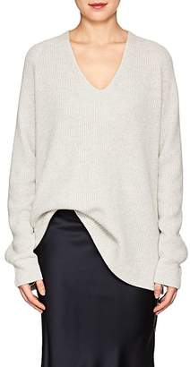 The Row Women's Arabelle Rib-Knit Cashmere-Silk Sweater