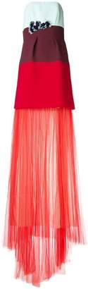 DELPOZO colour block dress