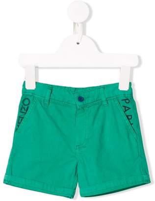 Kenzo logo slim-fit shorts