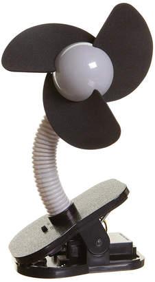 Contribute シルバー×ブラック ベビーカー扇風機 クリップオン ファン