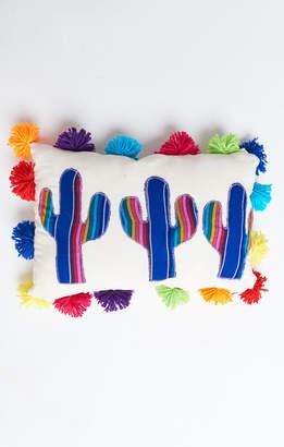 Show Me Your Mumu Cactus Pillow ~ Assorted Multi