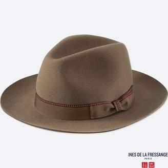 Uniqlo WOMEN IDLF Wool Fedora Hat