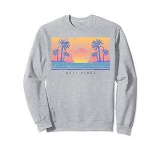 Bali Beach Vibes Distressed Crewneck Sweatshirt