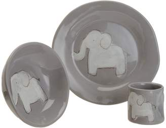 Alex Marshall Studios Elephant Character Dish Set