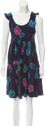 Marc by Marc Jacobs Floral Print Sleeveless Dress