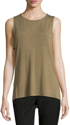 Design History Lightweight Side-Tab High-Low Tank, Camouflage Heather $95 thestylecure.com