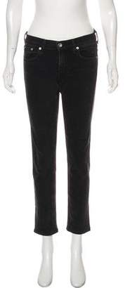 Rag & Bone Dre Capri Mid-Rise Jeans
