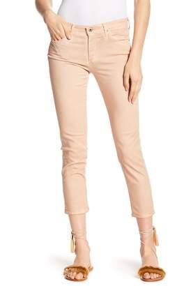 AG Jeans Stilt Distressed Crop Skinny Jeans