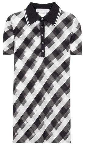 Stella McCartney Stella McCartney Printed Cotton Polo Shirt