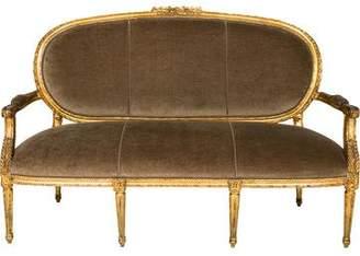 Louis XVI-Style Loveseat