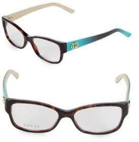 Gucci 52MM Square Optical Glasses