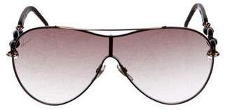 Gucci Gradient Aviator Sunglasses w/ Tags