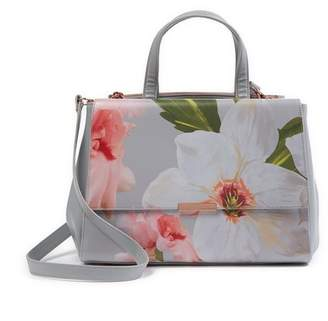 Ted Baker Peobe Chatsworth Bloom Leather Tote Bag